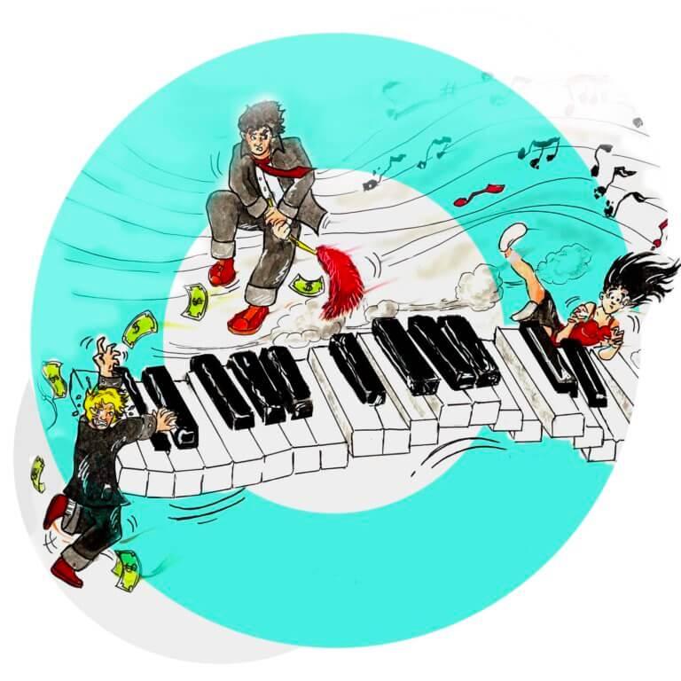 Amour, Piano et surtout pas de monologues